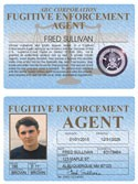 Fugitive Enforcement Agent Standard Folio