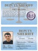 Deputy Sheriff Standard Folio