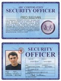 Security Officer Deluxe Folio
