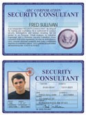 Security Consultant Deluxe Folio