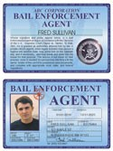 Bail Enforcement Agent Deluxe Folio