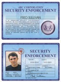 Security Enforcement Deluxe Folio