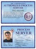 Process Server Deluxe Folio