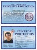 Executive Protection Deluxe Folio