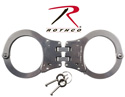 Rothco Stainless Steel Hinged Handcuffs