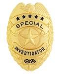 Classic Special Investigator Badge