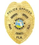 Dade County Florida Police Officer Badge