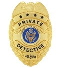 Private Detective Badge (New Style)
