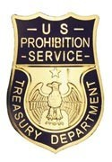 US Prohibition Badge