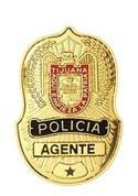 Tijuana Police Badge