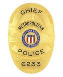 Metro Police Badge (Chief)
