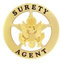 Surety Agent Badge