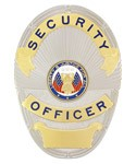 Security Officer Metro Shield Badge