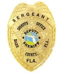 Miami Vice Sergeant Badge