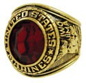 Men's Marines Military Ring