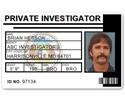 Private Investigator PVC ID Card PFP021