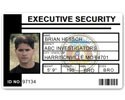 Executive Security PVC ID Card PFP023