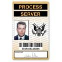 Process Server PVC ID Card