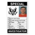 Special Investigator PVC ID Card PFP028