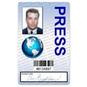 Press PVC ID Card
