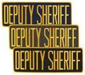 Large Velcro Deputy Sheriff Patch
