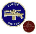 Police Sniper Challenge Coin