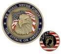 9/11 Commemorative Challenge Coin