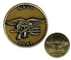 Seal Team Challenge Coin