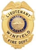 2.52 inch Eagle Top Smith & Warren Badge S169