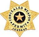 3.03 inch 7 Point Star Smith & Warren Badge S42A