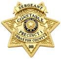 2 inch 7 Point Star Smith & Warren Sheriff Badge S633A