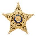 1.74 inch 5 Point Star Smith & Warren Badge S80