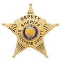 1.82 inch 5 Point Star Smith & Warren Badge S84