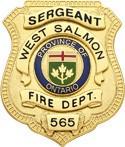 2.5 inch Metro Style Smith & Warren Badge S96EO