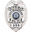 "3.375"" Eagle Top Smith & Warren Custom Badge SB1902A"