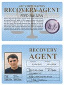 Recovery Agent Standard Folio