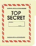 Top Secret File Folder 5-Pack