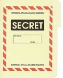 Secret File Folder 5-Pack