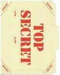 Top Secret File Folder No.2 5-Pack