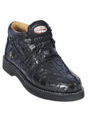 Atemporales zapatos de avestruz