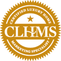 Certified Luxury Home Marketing Speicalist Logo