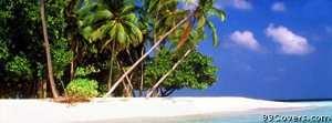beach island Facebook Cover Photo