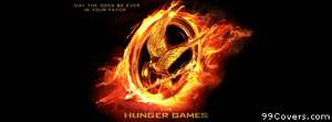 Hunger Games Flaming Mockingjay Facebook Cover Photo