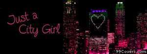 city girl Facebook Cover Photo