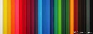 colorful stripes Facebook Cover Photo