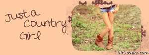 country girl Facebook Cover Photo