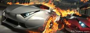 destructive cars Facebook Cover Photo