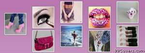 girl collage Facebook Cover Photo