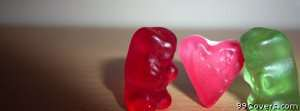 gummy bear love Facebook Cover Photo