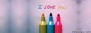 i love you Facebook Cover Photo